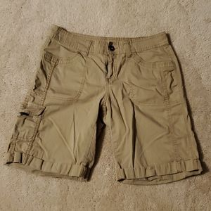 Faded Glory Women's Khaki Cargo Shorts